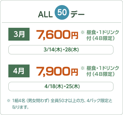 ALL50デー